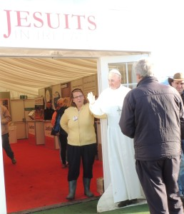 Jesuit stand at the National Ploughing Championship