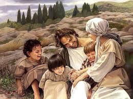 Jesus and kids