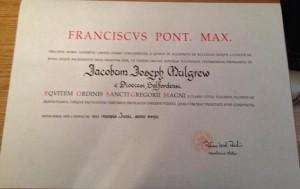 Papal Honour