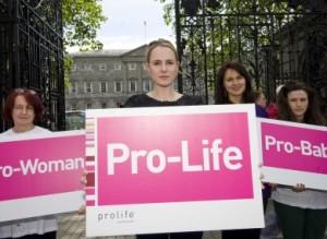 Pro life campaigners