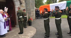 The state funeral and reburial of Irish patriot, Thomas Kent. Pic courtesy: BreakingNews.ie