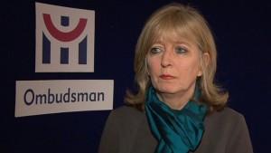 Emily O'Reilly, European Ombudsman. Pic courtesy: RTE