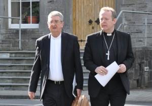 Primate of All Ireland Archbishop Eamon Martin (r) and Primate of Ireland Archbishop Diarmuid Martin.