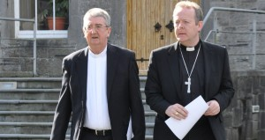 Primate of All Ireland Archbishop Eamon Martin (r) and Primate of Ireland Archbishop Diarmuid Martin.