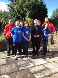 Bishop Buckley meets NET Ministries team and priests involved