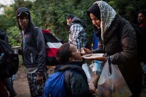 serbia Feeding-Refugees