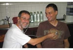 Fr Parolari Piero who was critically wounded in Bangladesh on Wednesday.