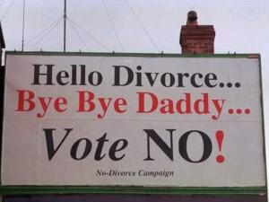 Hello divorce bye daddy
