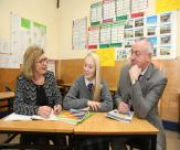 The Minister for Education and Skills Jan O'Sullivan, T.D. at launch of National Plan of Equity of Access to higher Education 2015- 2019 at Marino College in Fairview, Dublin 3
