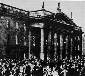 The GPO Dublin, Easter 1916