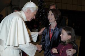 Piccolo Lasso with Benedict XVI