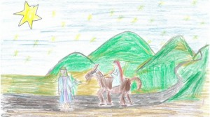 Nativity scene by Tom Long - courtesy catholicbishops.ie