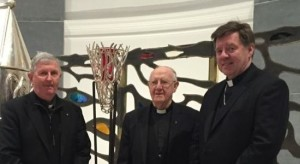 Bishops Michael Smith, Colm O'Reilly and Francis Duffy. Pic: Diocese of Meath