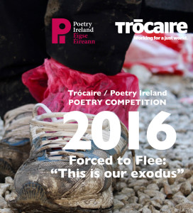 Poetry Ireland and Trocaire annual poetry competition 2016