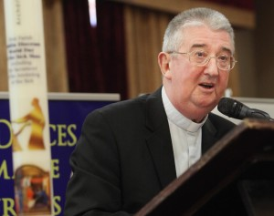 Archbishop Diarmuid Martin speaking at the annual conference to mark World Day of the Sick. Pic John Mc Elroy.