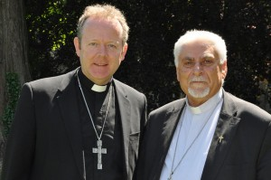 Archbishop Eamon Martin and Archbishop Yohanna Petros Mouche of Iraq. Pic courtesy Catholic Communications Office in Maynooth.
