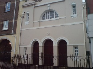 Cork Hebrew Congregation at South Terrace. Pic courtesy: http://www.jewishcork.com