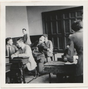 Terry Wogan as a student in Belvedere College