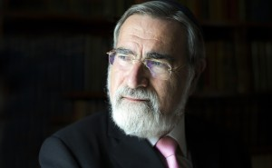 02.08.2013 © BLAKE-EZRA PHOTOGRAPHY LTD Images of Chief Rabbi, Lord Sacks. Not for forwarding or 3rd Party use. © Blake-Ezra Photography Ltd. 2013