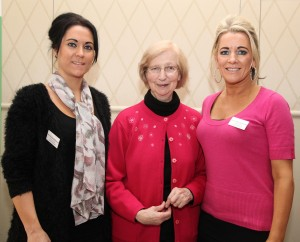 Pic shows Pauline Mc Donnell, Sr May Nyhan and Geraldine Mc Donnell from the Parish of the Travelling People who attended the conference on Saturday. Pic John Mc Elroy.