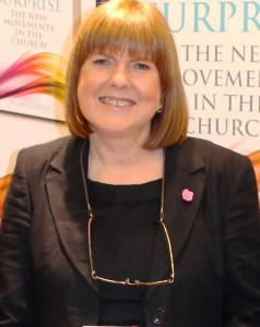 Susan Gately, journalist and author of 'God's Surprise – the new movements in the Church'.