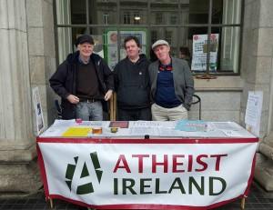 Atheist Ireland at GPO