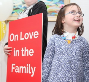 Pic shows Eliza Long at the press conf in Archbishops House in Dublin on Friday to welcome the publication of Pope Francis Amoris Laetitia (The Joy of Love: On Love in the Family) Pic John Mc Elroy.