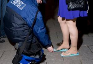 Street pastor 3 flip flop