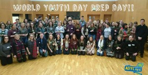 Pilgrims from Armagh archdiocese prepare for WYD 2016