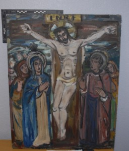 One of the stolen paintings