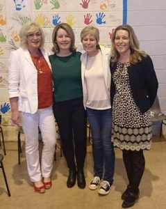 Some of the Foley family who were pupils at Scoil Carmel