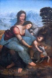Leonardo da Vinci the-virgin-and-child-with-st-anne 25