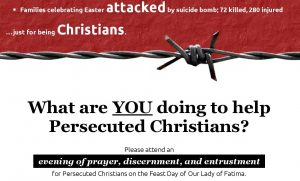 Tyburn event for persecuted Christians
