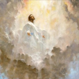 Image result for Jesus ascends to the Father