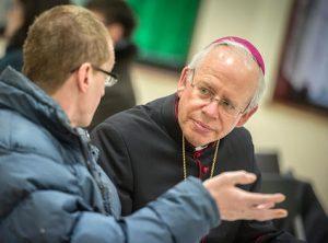 Catholic muslim action Bishop-Paul-Hendricks-talks-to-Man-in-Finsbury-Park-Mosque_medium