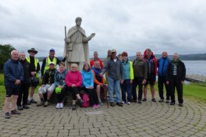 Derry diocese pilgrimage to Lough Derg