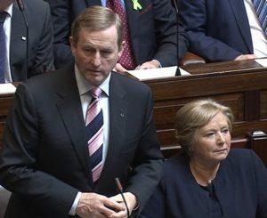 Taoiseach Enda Kenny in Dáil.