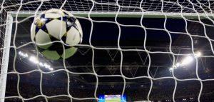 Goal in net