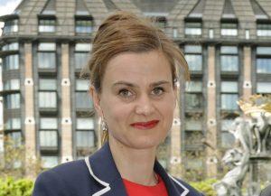 Labour's Jo Cox, MP for Batley & Spen, Photo credit: Yui Mok/PA Wire URN:22984252