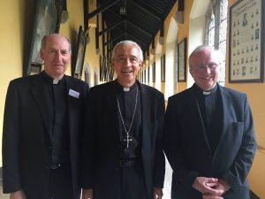 Bishop Denis Brennan, Archbishop Jorge Carlos Patrón Wong, Secretary for Seminaries of the Congregation for Clergy, Bishop Donal McKeown.