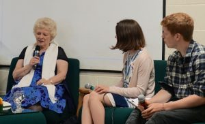 Explaining mercy in politics to young people, Baroness Nuala O'Loan