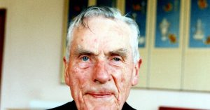100 year old Columban missionary Fr Dan Fitzgerald