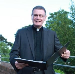 Fr Edward O'Donnell, Parish Priest of St Brigid's, Belfast