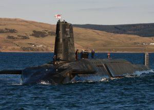 British Trident Submarine