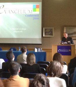 Bishop Alphonsus Cullinan at the 2016 Evangelium Conference