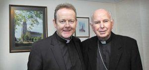 Bishop Edward Daly and Archbishop Eamon Martin. Pic courtesy: the Irish News.com