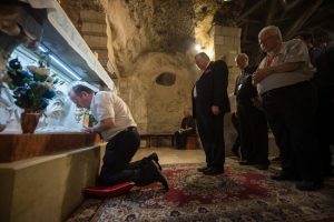 Archbishop Eamon Martin in the Holy Land