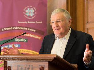 Rev Harold Good at the David Stevens Memorial Lecture