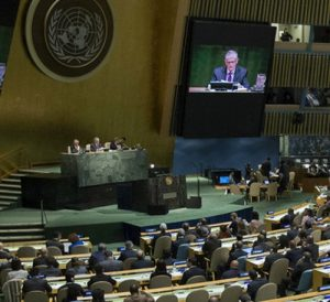 UN summit on refugees, 19th September 2016