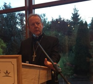 Archbishop Eamon Martin addresses Safeguarding Conference in Tullamore.